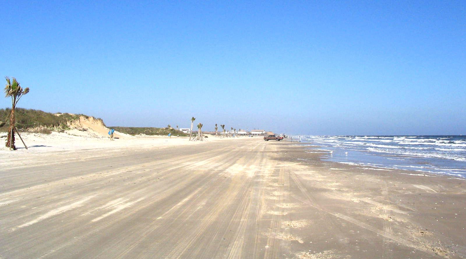 Freeport TX Quintana Beach County Park Images